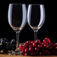 京东PLUS会员 : 贝瑟斯水晶红酒杯高脚葡萄酒杯家用酒具套装传世无铅香槟杯 2只 *7件