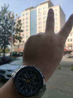 张大妈当年最热:西铁城蓝天使太阳能电波表