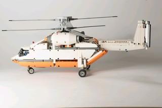 乐高科技42052双旋翼运输直升机