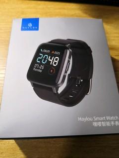 嘿喽智能手表简单开箱
