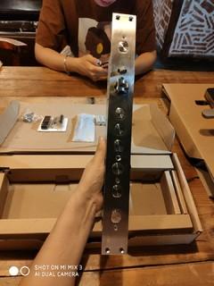 小米指纹锁,霸王锁体开箱(1)