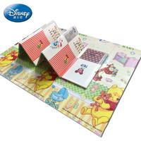 迪士尼(Disney) XPE爬行垫折叠双面游戏毯加厚 维尼+米奇量高197*177*1cm *2件