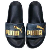 复活节狂欢、银联专享 : PUMA 彪马 Leadcat Snake Lux Slide Sandals 女士拖鞋