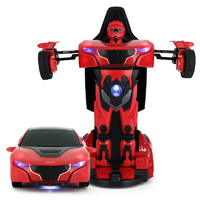 RASTAR 星辉 1:32RS战警合金变形汽车模型 61800 红