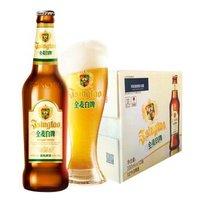 青岛啤酒全麦白啤330ml*12瓶 *4件 +凑单品