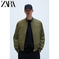ZARA新款 男装 拉链飞行员夹克外套 06985414505