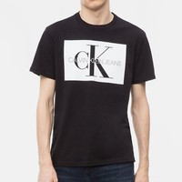 Calvin Klein 男士棉质T恤
