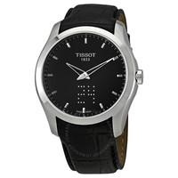 银联专享:TISSOT 天梭 Couturier库图 T035.446.16.051.01 男士时装腕表