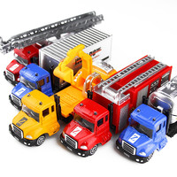 北国e家 儿童玩具1:65合金车模仿真挖掘机模型 *2件