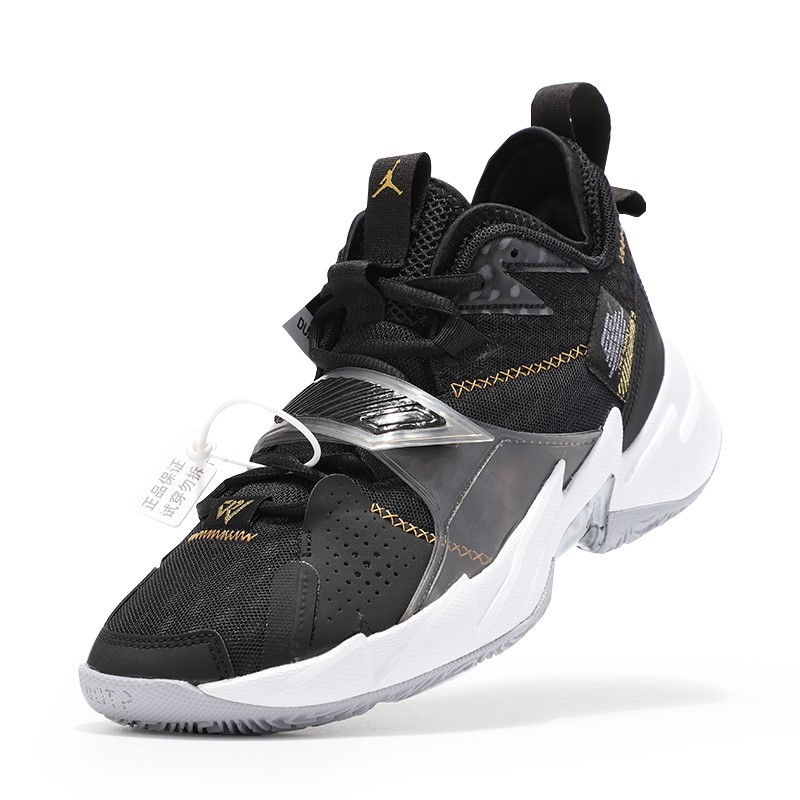 AIR JORDAN WHY NOT ZER0.3 PF 男士篮球鞋 CD3002-001 黑色 42.5