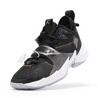 AIR JORDAN 男士篮球鞋 CD3002-001 黑色 45