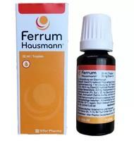 10日10点:Ferrum Hausmann 孕妇婴幼儿口服补铁剂30毫升/瓶 2瓶装