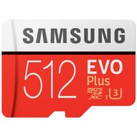 SAMSUNG 三星 EVO Plus 升级版+ MicroSD存储卡 512GB