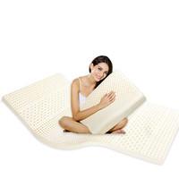 LKECO斯里蘭卡進口95%天然乳膠床墊2.5*120*200cm(多款可選)