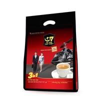 越南进口 中原G7三合一速溶咖啡800g(16克*50包)越南本土越文版(新包装) *4件