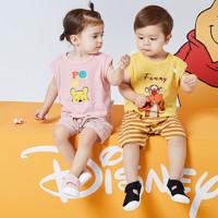 Mini Balabala 迷你巴拉巴拉 儿童夏季短袖套装