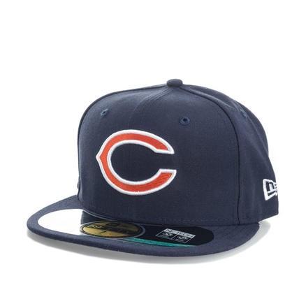 New Era 59Fifty系列 Chicago Bears 男士平檐棒球帽