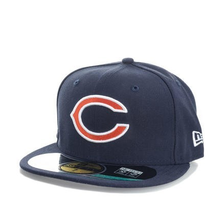 New Era 59Fifty系列 Chicago Bears 男士平檐棒球帽