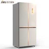 JIWU 苏宁极物 JQE4428XP 风冷变频 十字对开门冰箱 440L