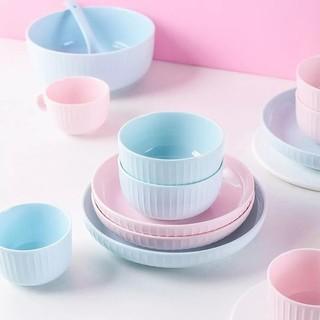 YANSE 研色  抗菌水晶瓷 餐具套装 8件套