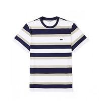 Lacoste TH88214CKL2 间条休闲短袖T恤