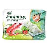 鲁海 虾仁水饺 600g 24只 早餐食蒸饺煎饺 *8件