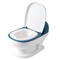 世纪宝贝(babyhood)儿童坐便器 仿真如厕训练神器 BH-129 湖蓝 *2件