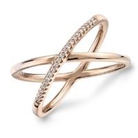 复活节狂欢、银联专享 : Blue Nile 14k精巧密钉钻石戒指