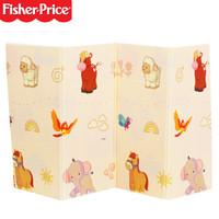 费雪fisher-price 宝宝爬行垫XPE双面机械折叠垫儿童爬爬垫婴儿客厅家用游戏地垫 数字180*160*1cm LXX-H-200 *2件