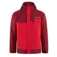Columbia 哥伦比亚 男士冲锋衣1798752 闪耀红拼色 S