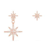 APM MONACO RE10596OX 女士粉金色925银流星耳环
