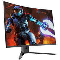 HKC 惠科 GX329QN 31.5英寸 VA显示器(2K、1500R、144Hz、G-Sync)