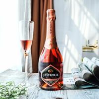 南非进口葡萄酒 甜型高泡酒 J.C.LEROUX 乐福起泡酒 750ml 乐福粉红起泡酒 *6件
