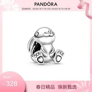 Pandora潘多拉兔子妮妮串饰925银798763C00可爱时尚礼物