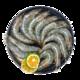京东PLUS会员:鲜尝态 沙特白虾 净重1kg/约50-60只 *2件 158元包邮(多重优惠)