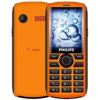 PHILIPS 飞利浦 E288S 直板按键老人手机 移动联通4G 赤霞橙