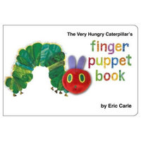 The Very Hungry Caterpillar's Finger Puppet Book饥肠辘辘的毛毛虫(手指木偶图书)