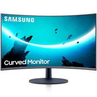 京东PLUS会员:SAMSUNG 三星 C27T550FDC 27英寸曲面显示器(1080p、1000R、FreeSync)