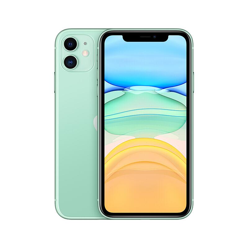 Apple iPhone 11 (A2223) 64GB 绿色 移动联通电信4G手机 双卡双待