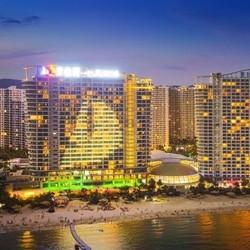 3-6月入住免费升级套房!惠州碧桂园十里银滩 180度海景客房1晚(含2份早餐+玩乐)