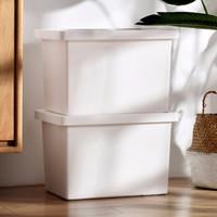 百露收纳箱塑料衣服加厚家用整理箱 *2件