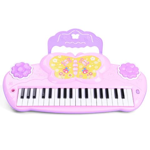 儿童电子琴宝宝益智小孩多功能钢琴女孩音乐玩具礼物3-6周岁1-2-4