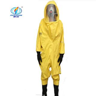聚远(JUYUAN)20028/重型防化服、防酸碱服FHLWS-003 黄 M
