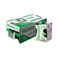 Laciate 兰雀 脱脂纯牛奶 500ml*8盒