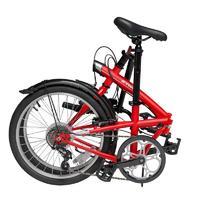 DECATHLON 迪卡侬 中性折叠自行车 8347051 红色 20英寸