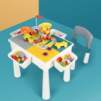 Hearthsong 哈尚 多功能积木学习桌椅 可增高50cm大号桌+单椅+85大颗粒 +凑单品