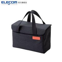 宜丽客(ELECOM)日本便携相机手提包镜头收纳保护箱off toco专业摄影单反 黑色