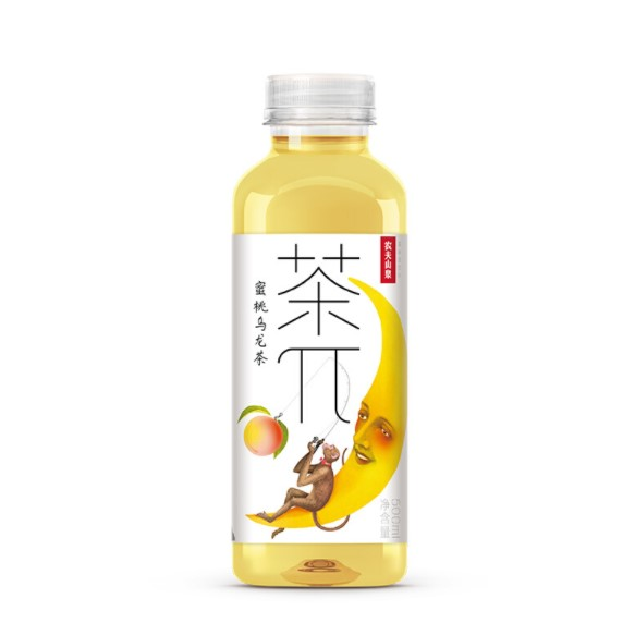 NONGFU SPRING 农夫山泉 茶兀 蜜桃乌龙茶 500ml*10瓶