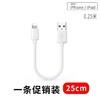 自由光 苹果数据线 25cm