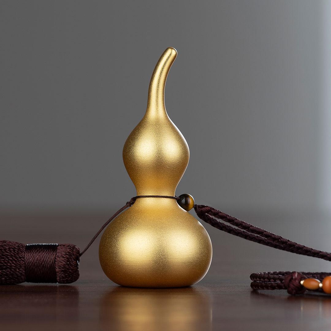铜师傅 铜葫芦系列 大吉大利葫芦